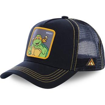 Cappellino trucker nero Michelangelo MIK Tartarughe Ninja di Capslab