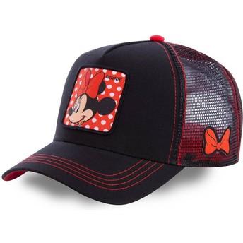 Cappellino trucker nero Minni MIN1 Disney di Capslab
