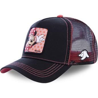 Cappellino trucker nero Minni MIN2 Disney di Capslab