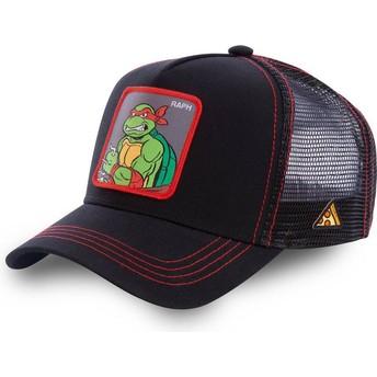 Cappellino trucker nero Raphael RAP Tartarughe Ninja di Capslab
