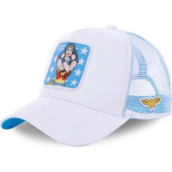 Cappellino trucker bianco Wonder Woman WON1 DC Comics di Capslab