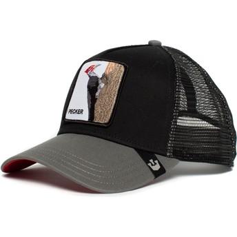 Cappellino trucker nero Picchiarello Woody Wood di Goorin Bros.