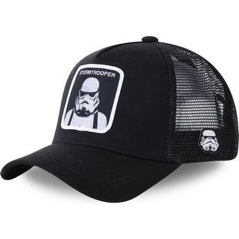 Cappellino trucker nero Stormtrooper BA Star Wars di Capslab