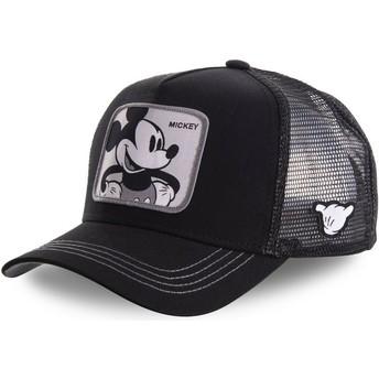 Cappellino trucker nero Topolino MIC5 Disney di Capslab