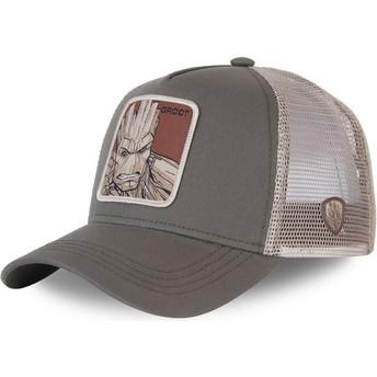 Cappellino trucker grigio Groot GRO3 Marvel Comics di Capslab