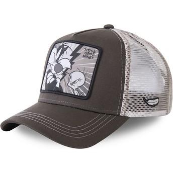 Cappellino trucker grigio Silvestro Vs TittiTVG2 Looney Tunes di Capslab