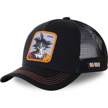 Cappellino trucker nero Son Goku GOKD Dragon Ball di Capslab