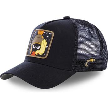 Cappellino trucker nero Marvin el Marciano MAR1 Looney Tunes di Capslab