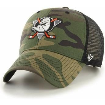 Cappellino trucker mimetico MVP Branson di Anaheim Ducks NHL di 47 Brand