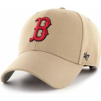 Cappellino visiera curva khaki regolabile MVP de Boston Red Sox MLB di New Era