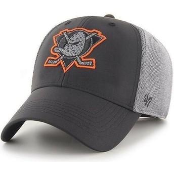 Cappellino visiera curva nero regolabile MVP Arlo di Anaheim Ducks NHL di New Era