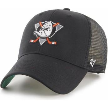 Cappellino trucker nero MVP Branson di Anaheim Ducks NHL di 47 Brand