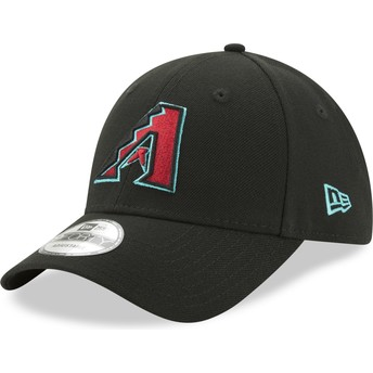 New Era Curved Brim 9FORTY The League Arizona Diamondbacks MLB Black Adjustable Cap