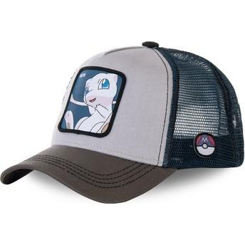 Cappellino trucker grigio e blu Mew MEW1 Pokémon di Capslab