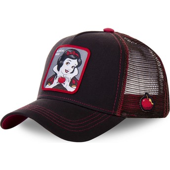 Capslab Snow White SNO2BLA Disney Brown Trucker Hat