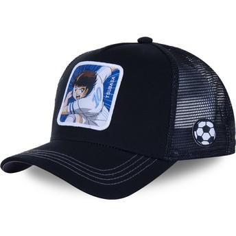 Capslab Tsubasa Oozora TSU4 Captain Tsubasa Black Trucker Hat