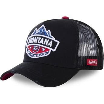 Von Dutch Montana MON2 Black Trucker Hat