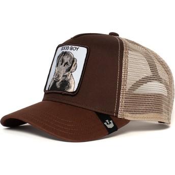 Goorin Bros. Youth Puppy Dog Eyes Brown Trucker Hat