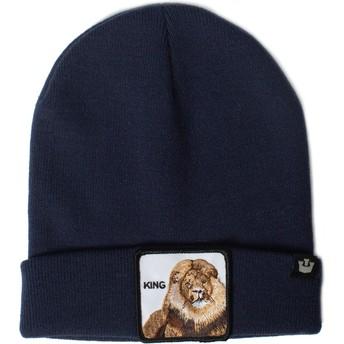 Goorin Bros. Lion Hear Me Roar Navy Blue Beanie