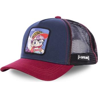 Capslab Arale Norimaki SLU2 Dr. Slump Navy Blue and Red Trucker Hat