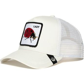 Goorin Bros. Ladybug Spot White Trucker Hat