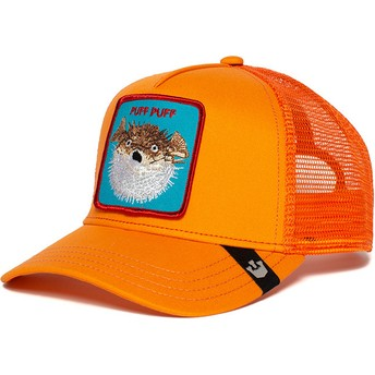 Goorin Bros. Blowfish Puff Orange Trucker Hat