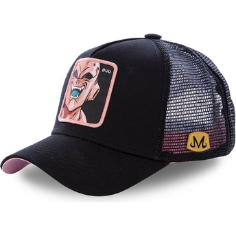 Capslab Youth Kid Buu KID_BUU Dragon Ball Black Trucker Hat