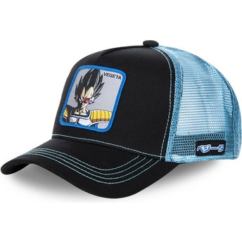 Capslab Youth Vegeta KID_VEGB Dragon Ball Black and Blue Trucker Hat