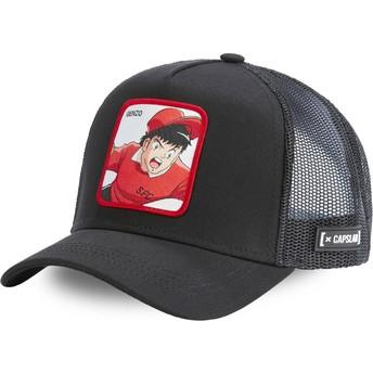 Capslab Genzo Wakabayashi WAK4 Captain Tsubasa Black Trucker Hat