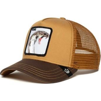 Goorin Bros. Cobra Biter Brown Trucker Hat