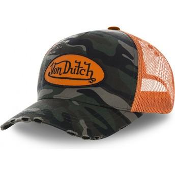 Cappellino trucker mimetico CAMO06 di Von Dutch