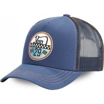 Von Dutch ADAM BLU Blue Trucker Hat