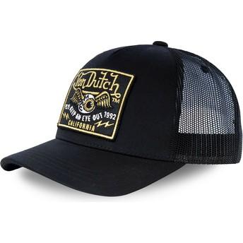 Von Dutch BLKB Black Trucker Hat
