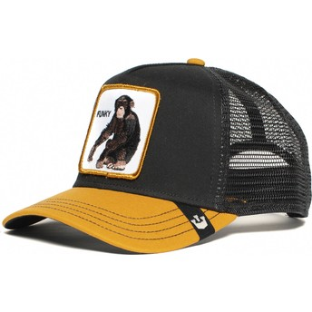 Goorin Bros. Youth Little Monkey Black and Yellow Trucker Hat