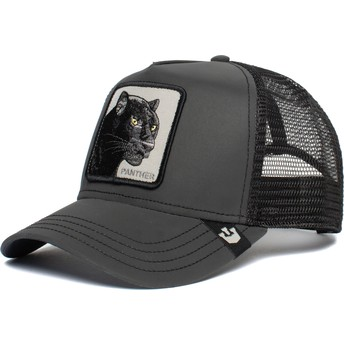 Goorin Bros. Panther Shine Bright Black Trucker Hat