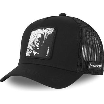 Cappellino visiera curva nero snapback Batman classico BAT1 DC Comics di Capslab