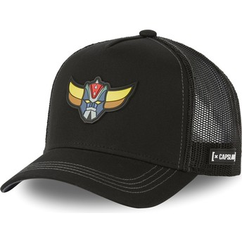 Capslab KNI1 UFO Robot Grendizer Black Trucker Hat