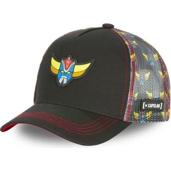 Capslab MSK2 UFO Robot Grendizer Black Trucker Hat