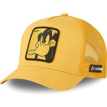 Capslab Daffy Duck LOO DUF1 Looney Tunes Yellow Trucker Hat