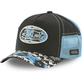 Von Dutch ATRU NAV Black and Blue Trucker Hat