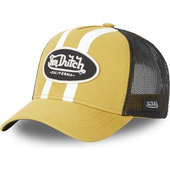 Von Dutch STRI M Yellow Trucker Hat