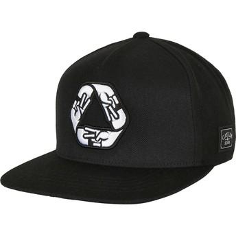 Cayler & Sons Flat Brim WL Iconic Peace Black Snapback Cap