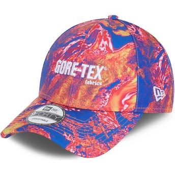 New Era Curved Brim 9FORTY Gore-Tex Pink Adjustable Cap