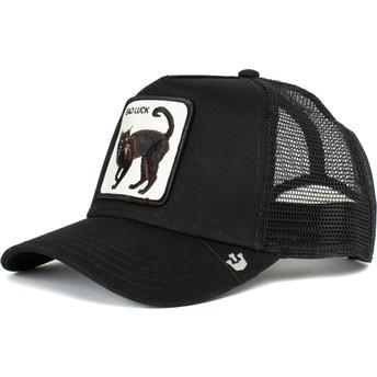 Goorin Bros. Black Cat Bad Luck The Farm Black Trucker Hat