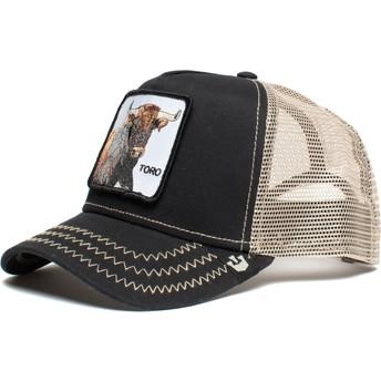 Goorin Bros. Toro That's Bull The Farm Black Trucker Hat
