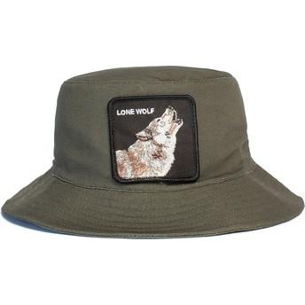 Goorin Bros. Lone Wolf Howl You Doing The Farm Green Bucket Hat