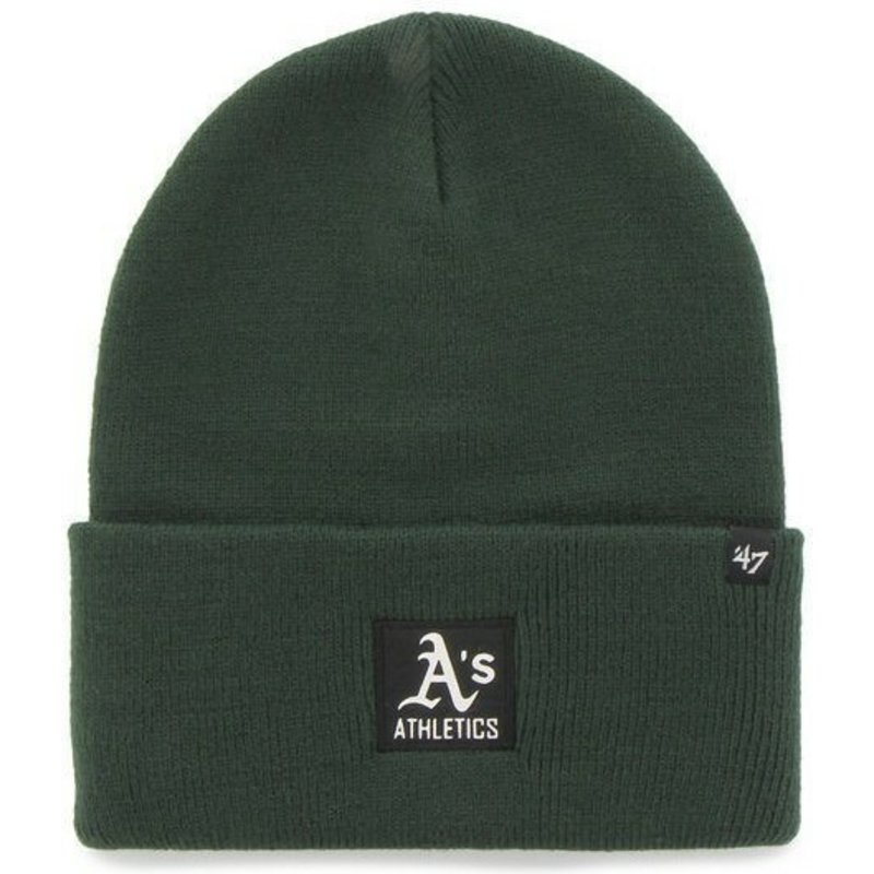 berretto-verde-di-oakland-athletics-mlb-di-47-brand