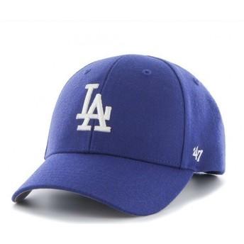 Cappellino visiera curva blu di Los Angeles Dodgers MLB di 47 Brand