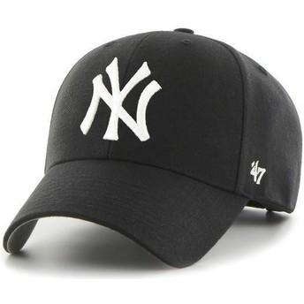 Cappellino visiera curva nero di New York Yankees MLB di 47 Brand