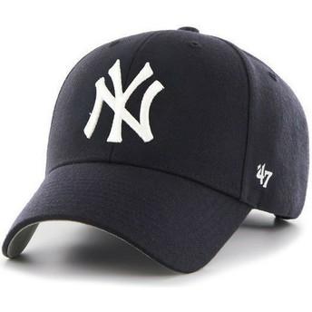 Cappellino visiera curva blu marino di New York Yankees MLB di 47 Brand